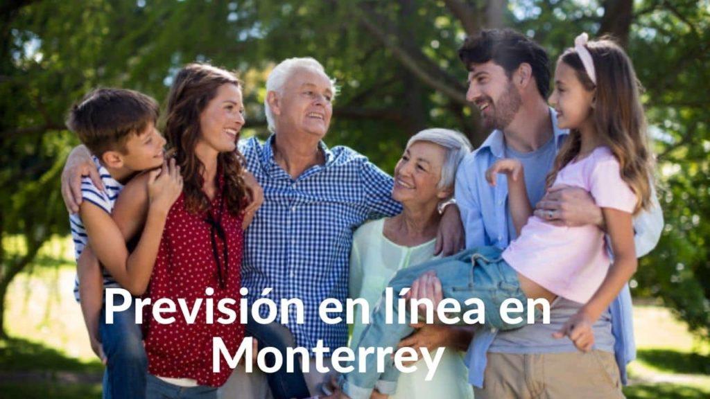 Previsión en línea en Monterrey