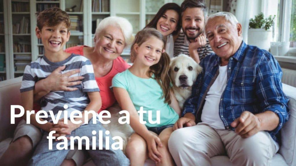 previsión en Monterrey familiar